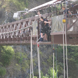 Sight of the world's first bungee jump