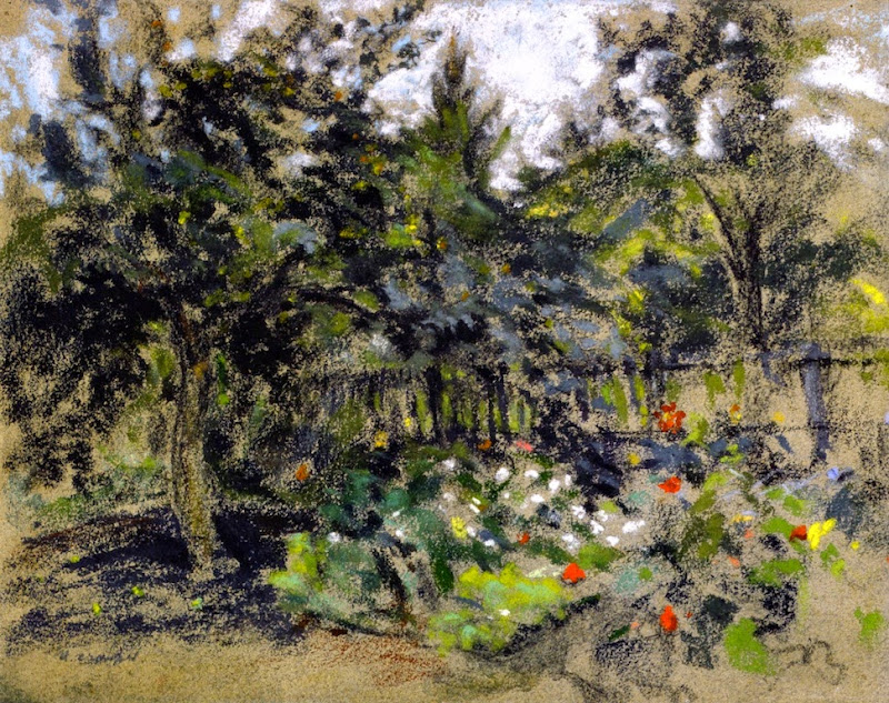 Ker Xavier Roussel - The Garden Fence