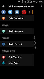 Rick Warren's Sermons - náhled