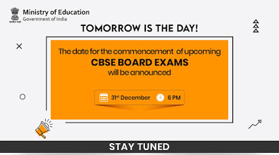 TOMORROW IS THE DAY! STAY TUNED- MINISTRY OF EDUCATION
