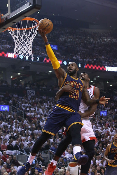 Cavs Sweep Raptors as LBJ Continues to Roll Out Nike LeBron 14 PEs