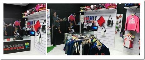 La tienda Padel Nuestro Cieza está ubicada en una de las avenidas principales del municipio, en la calle Antonio Machado, en plena zona comercial
