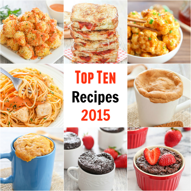 Top Ten Recipes 2015