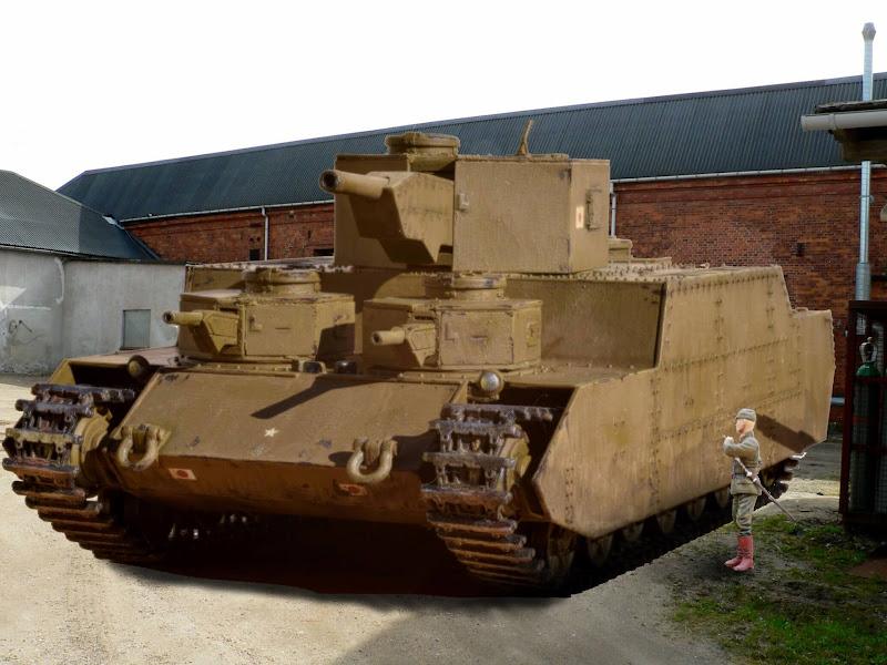 日本陸軍 試製重戦車オイ