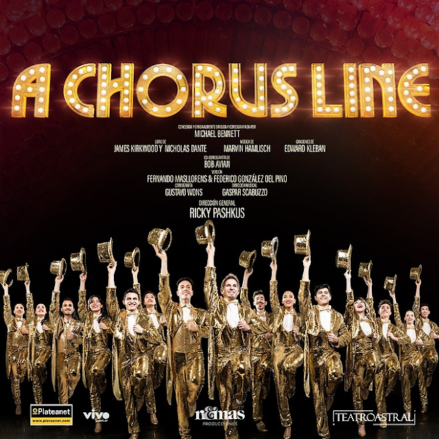 """""""A CHORUS LINE"""" Regresa al Teatro Astral Estreno 15 de Enero 2021"""