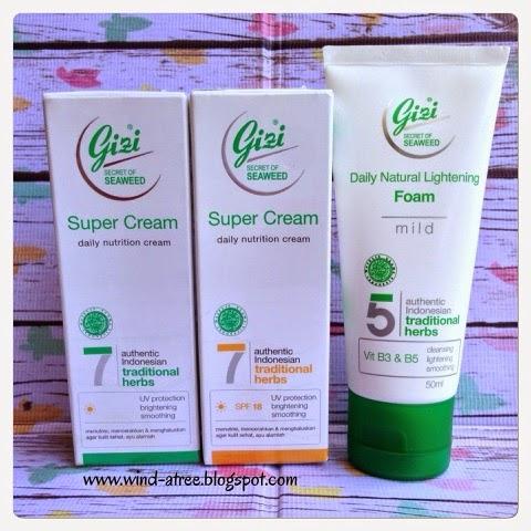 [Review] Gizi Super Cream Daily Nutrition Cream Series