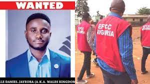 EFCC Declares 24-year-old Man Wanted For N935Million Investment Scam