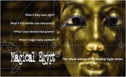 Magical Egypt A Tv Documentary Series