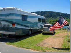 Golden Bear RV Park, Klamath, Ca - 2012