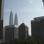 View from our hotel room (Kuala Lumpur)