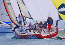 J/111 sailing the Chicago NOOD Sailing World regatta