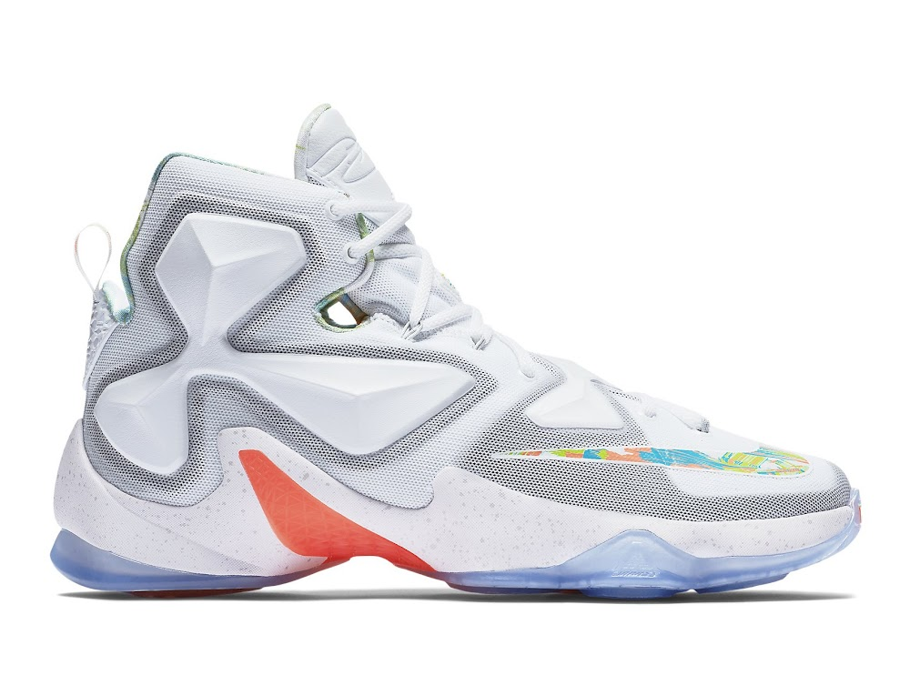 detailed pictures 21584 710b5 Release Reminder Nike LeBron 13 Easter ...
