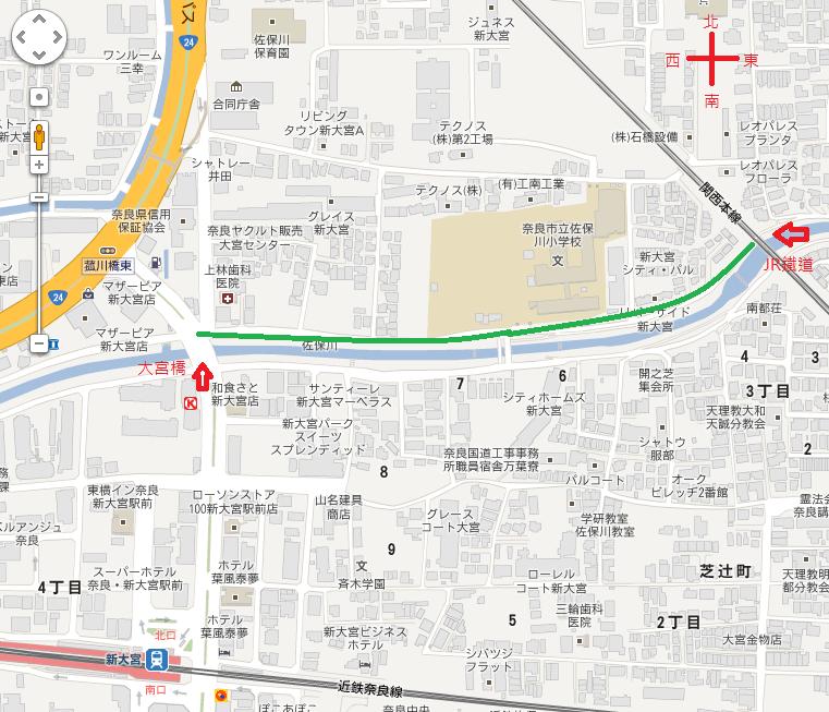 奈良佐保川櫻花燈火會(なら さほがわ 桜 燈火会)