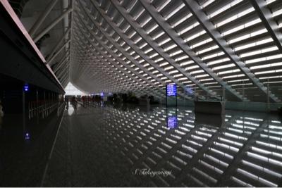 台湾国際桃園空港 到着