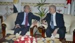 Abdelmalek Sellal s'entretient avec son homologue égyptien