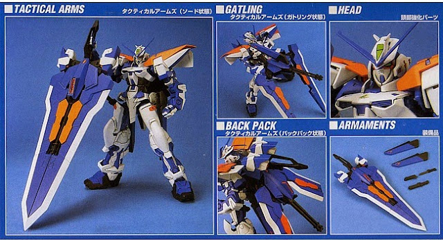 Chi tiết Gundam Astray Blue Frame Second L Tỷ lệ 1/100 Gundam Seed No. 12