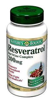 nature's bounty resveratrol