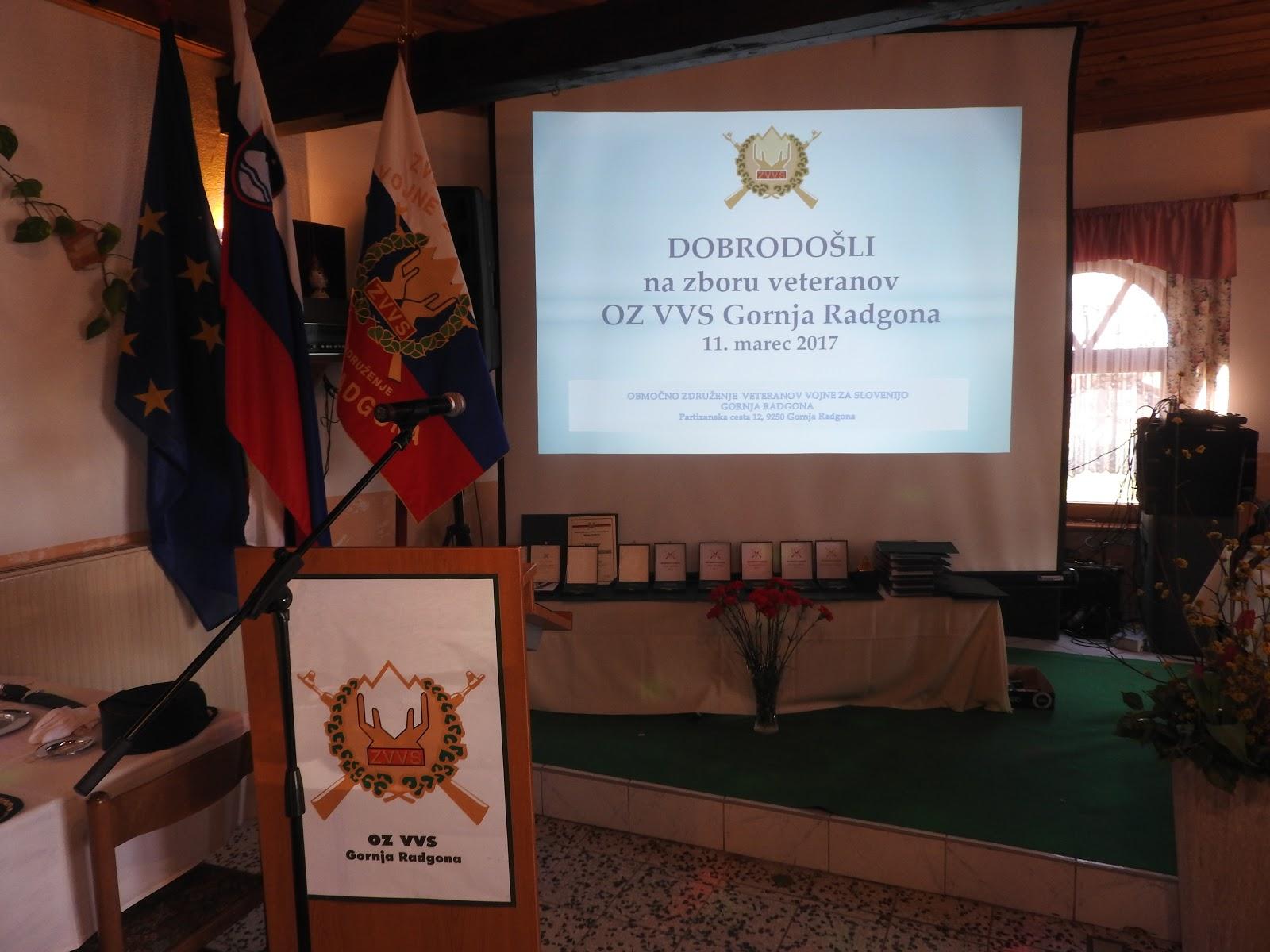 Zbor OZVVS Gornja Radgona v Nasovi 11. marec 2017