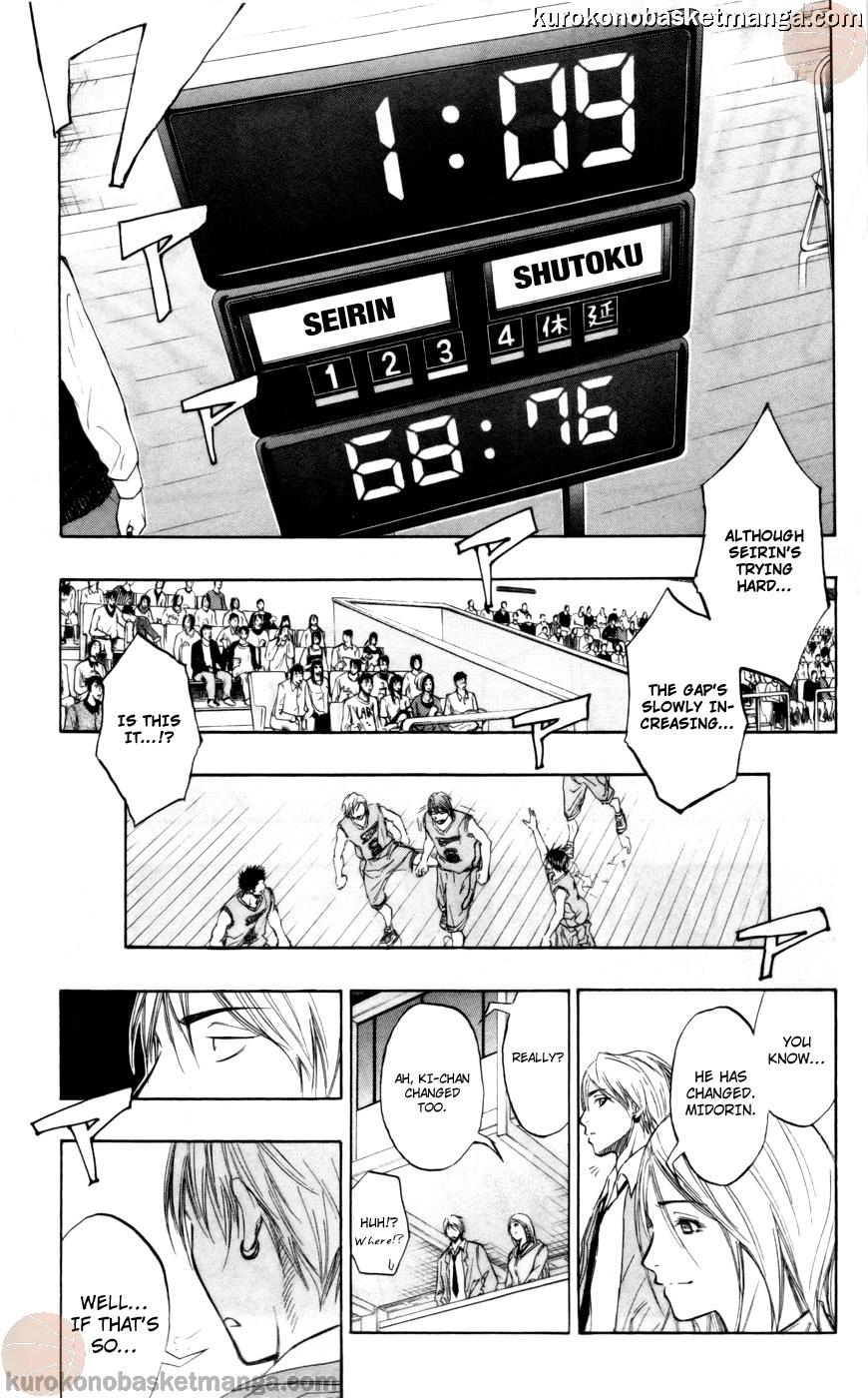 Kuroko no Basket Manga Chapter 89 - Image 14