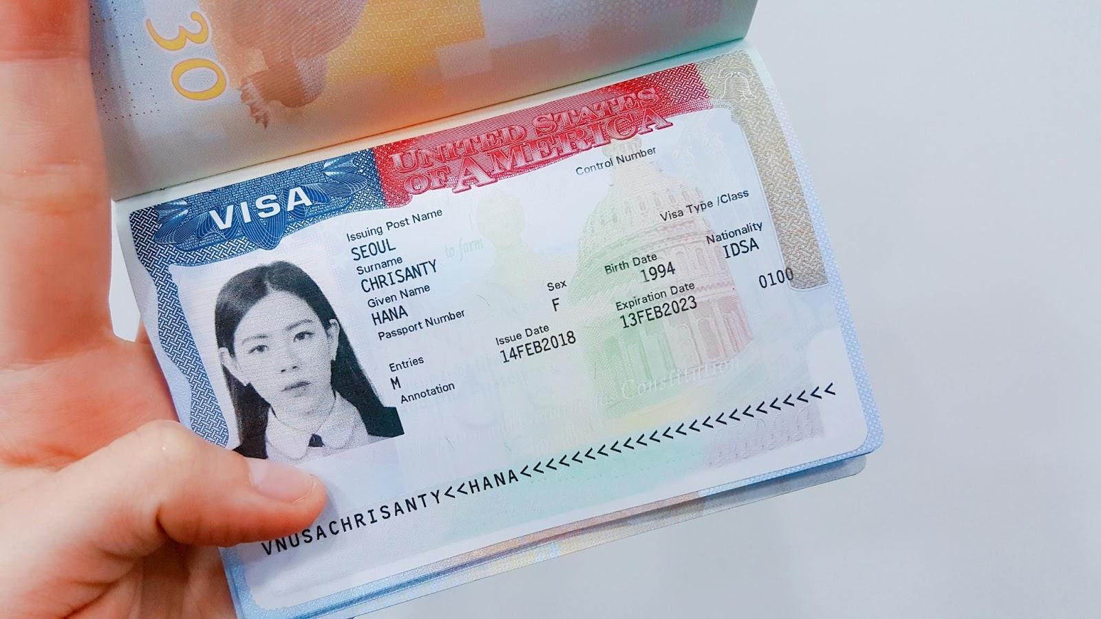 EAT TRAVEL REPEAT: [VISA] INDONESIAN MADE AMERICAN VISA IN KOREA