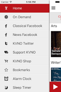 KVNO Public Radio App- screenshot thumbnail