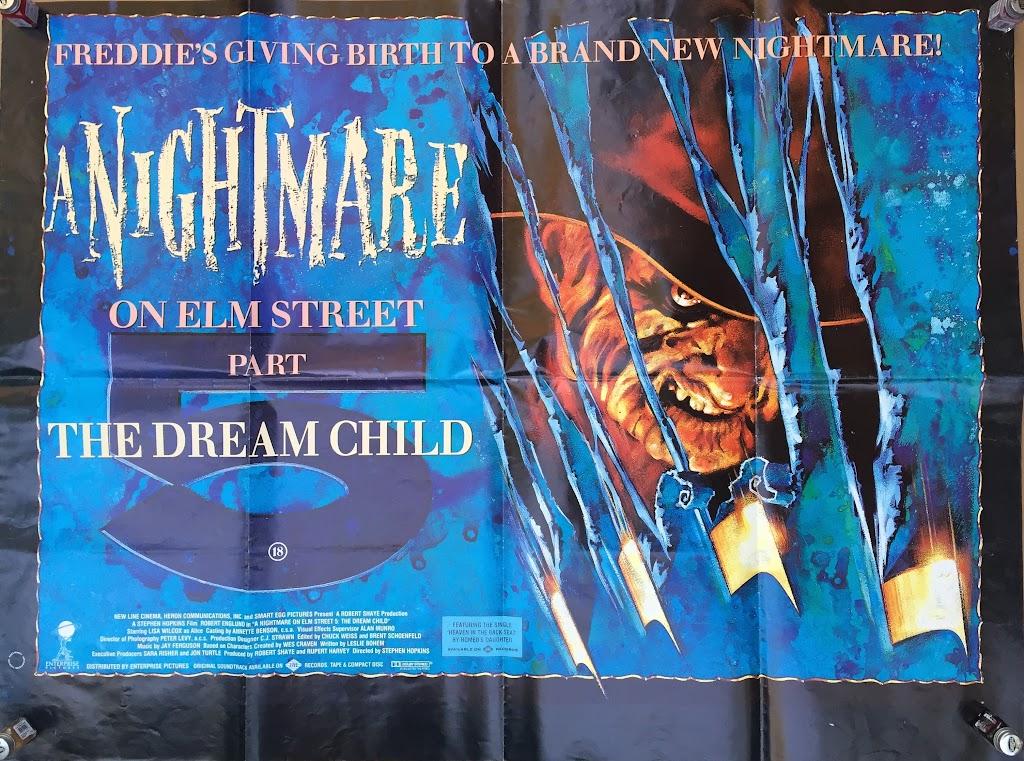 UK Nightmare 5 one sheet #2