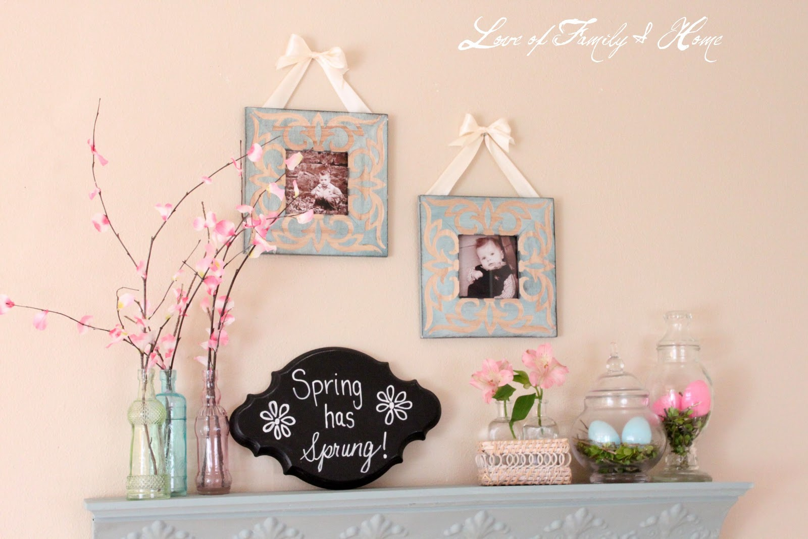 DIY Cherry Blossom Branches Love Of Family & Home