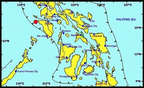 earthquake 11.49 jan 14