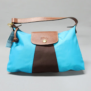 Longchamp NEW Colorblock Pouchette