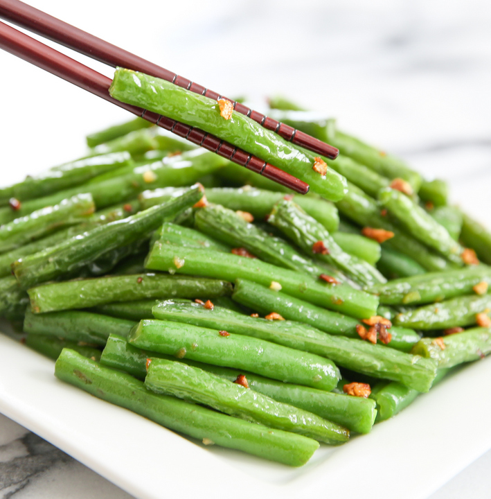 Asian Garlic Green Beans Recipes — Dishmaps