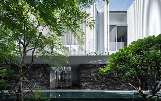 Thiết kế kiến trúc như ốc đảo thiên nhiên giữa đô thị xài thành
