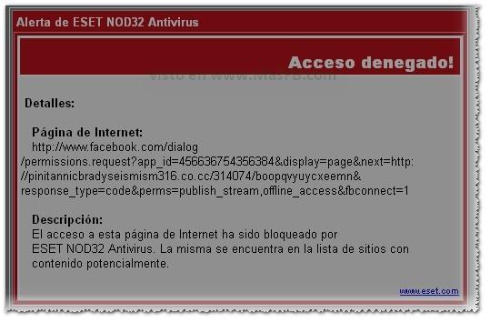 Código Virus Facebook