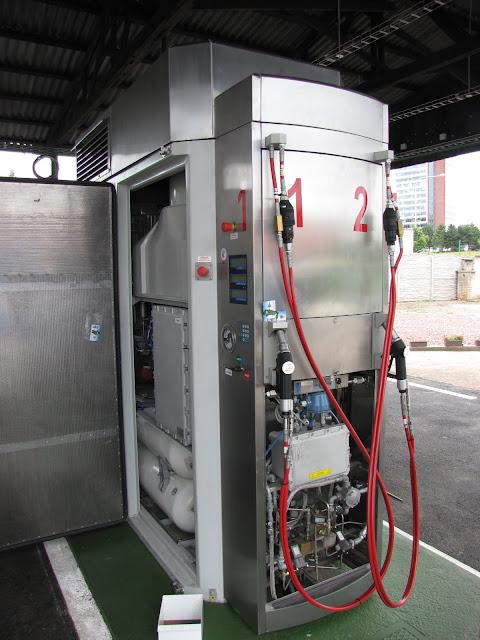 2 stanowiska tankowania CNG