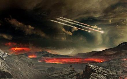 Η Γη βομβαρδιζόταν συνεχώς με αστεροειδείς σε μέγεθος μεγάλης πόλης