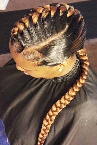 perfect straight braid hairstyle for black women 2018 2019 5