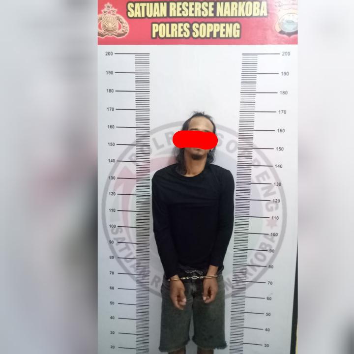 DPO Penyalahgunaan dan Peredaran Narkoba Polres Soppeng Berhasil Diamankan