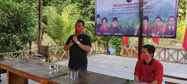 Pendidikan politik PDI Perjuangan Banjarbaru