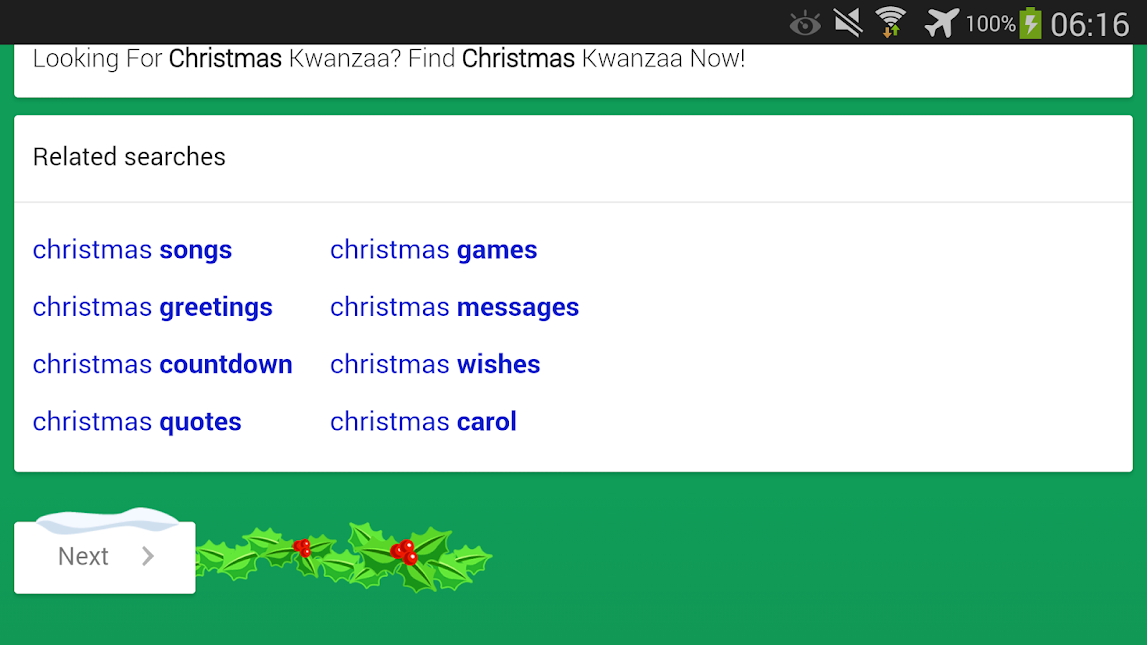 Google Mobile Christmas