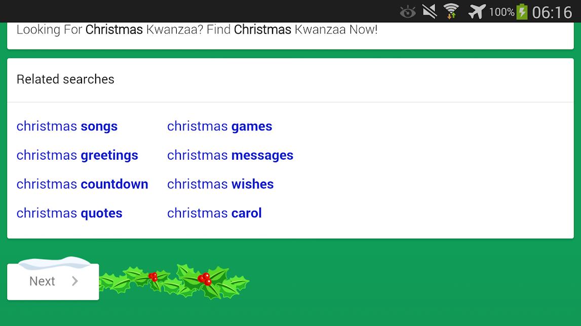 Google Mobile Christmas
