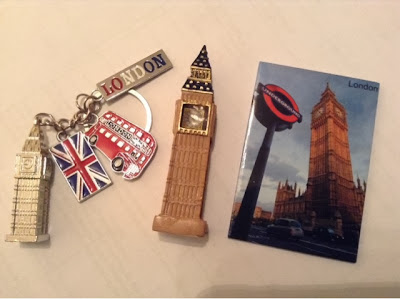 souvenirs from London