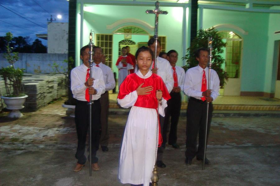 Lễ Thánh Anrê Nguyễn Kim Thông tại Giáo xứ Sơn Nguyên