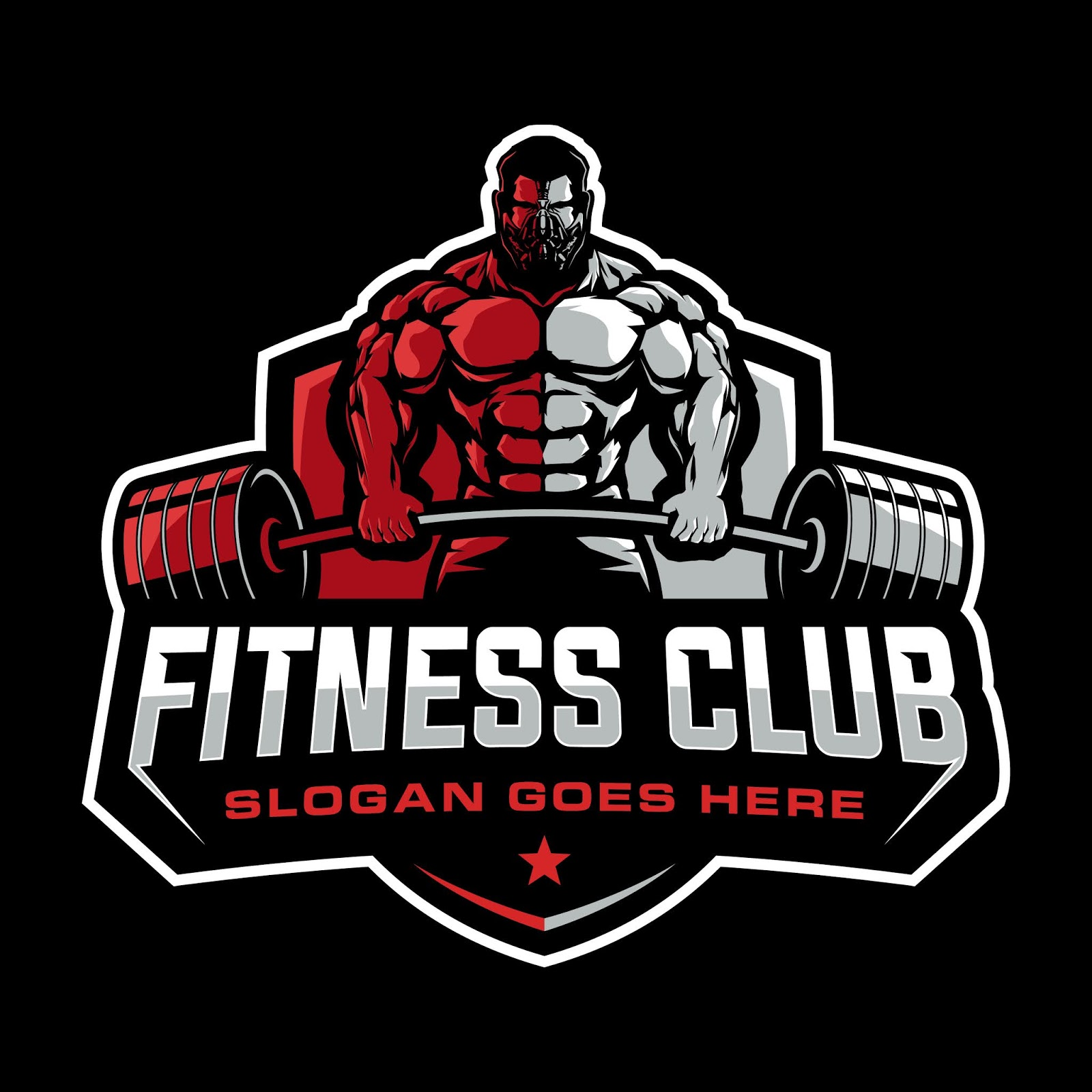 Fitness Logo Design Free Download Vector CDR, AI, EPS and PNG Formats