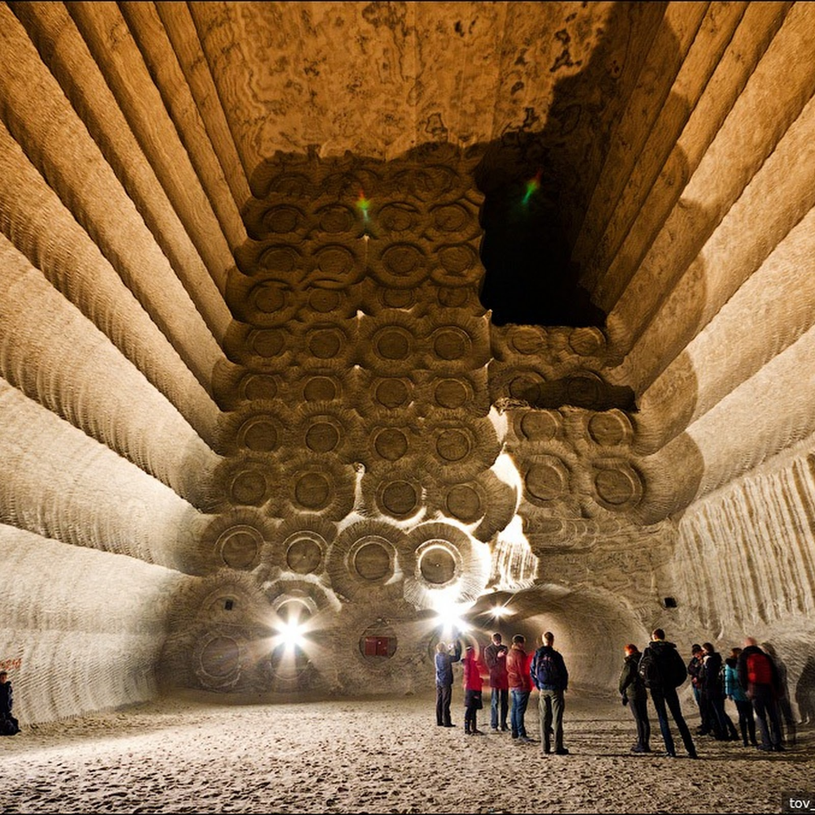 The Soledar Salt Mines