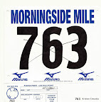 Mike's race bib