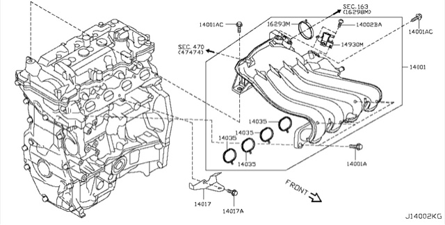 When Checking The Gasket Information For Nissan Almera 15 Which Selling In Malaysia Market First Thing Of Course We Check On Its Engine Code: Nissan Almera 1 6 Engine Diagram At Aslink.org
