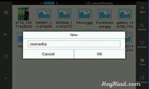 gambar dan folder di Smartphone dan Tablet Android tanpa memakai Aplikasi Menyembunyikan Foto Video Di Android Tanpa Aplikasi (🔥UPDATED)