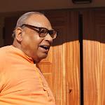 Day 2 Joyful Swami Tathagatanandaji before new temple opening