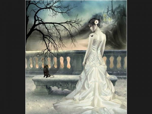 White Queen And A Cat, Magic Beauties 3