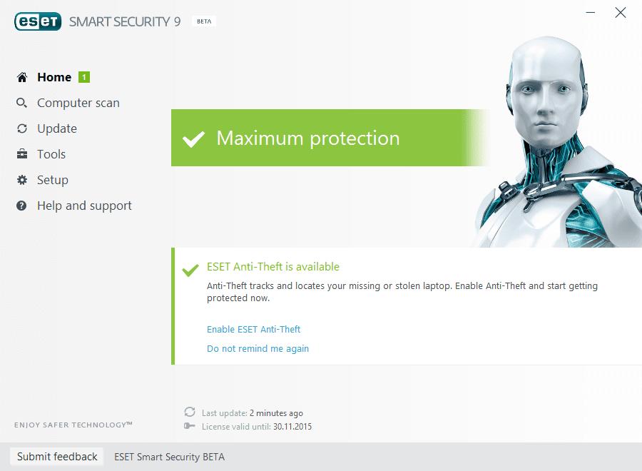 ESET NOD32 Smart Security 9 Beta - Самый лучший из платных
