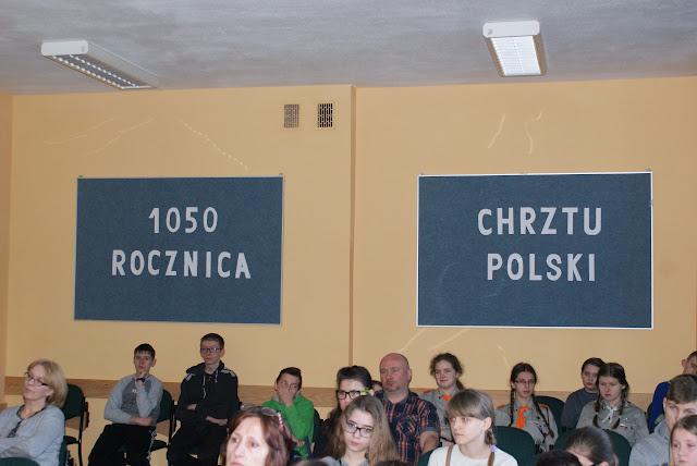 1050 ROCZNICA CHRZTU POLSKI W ZS NR 2 W DUKLI - 6.JPG